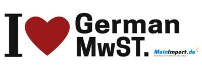 Deutsche Mehrwertsteuer auf Reimporte