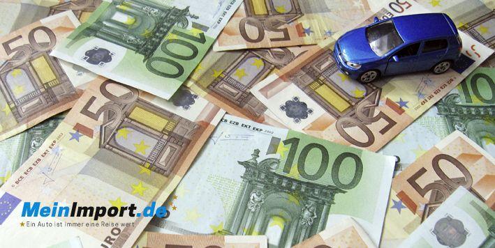 EU-Neuwagen können viel Geld sparen.